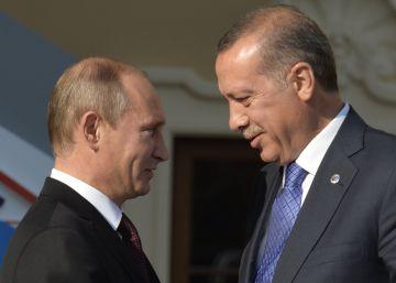 Erdogan viaja a Rusia para recuperar un aliado estratégico