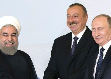 Putin se apoya en Irán y Azerbaiyán para reforzarse