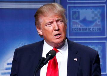 Trump se ofrece como salvador de la clase obrera con rebajas fiscales