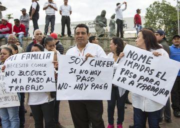 Los empresarios de Oaxaca, en huelga contra los maestros