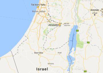 Google reconoce que Cisjordania y Gaza han desaparecido de sus mapas