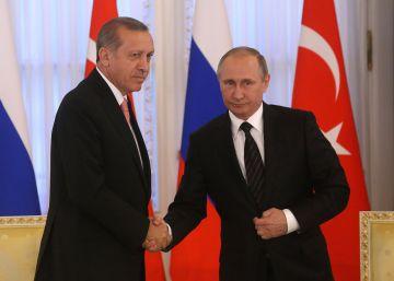 """El cambio de vocabulario de Putin: de la """"traición"""" a la """"tragedia"""""""