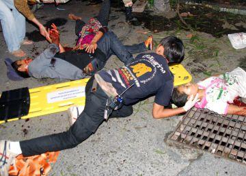 Una cadena de atentados sacude varios puntos turísticos de Tailandia