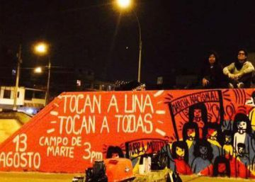Peruanos vão às ruas contra a violência de gênero