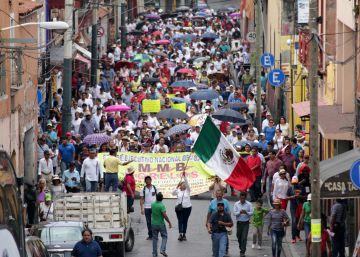 Miles de mexicanos se manifiestan contra la inseguridad