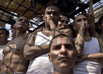 Presos del penal de Quzaltepeque en El Salvador.