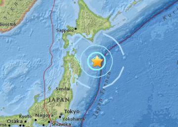 Un terremoto en Japón de magnitud 6 sacude por segunda vez las islas este sábado