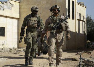 La guerra secreta de EE UU: 300 soldados de élite con Raqa como objetivo