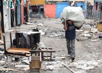 Los sin techo del Bronx colombiano