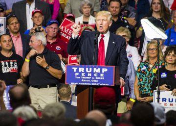 Donald Trump corteja a las minorías que antes insultó