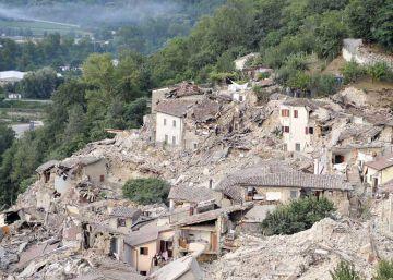 Una zona poco poblada con mucho riesgo sísmico