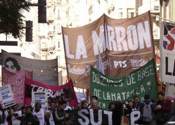 Una huelga docente deja sin clases a nueve millones de alumnos en Argentina