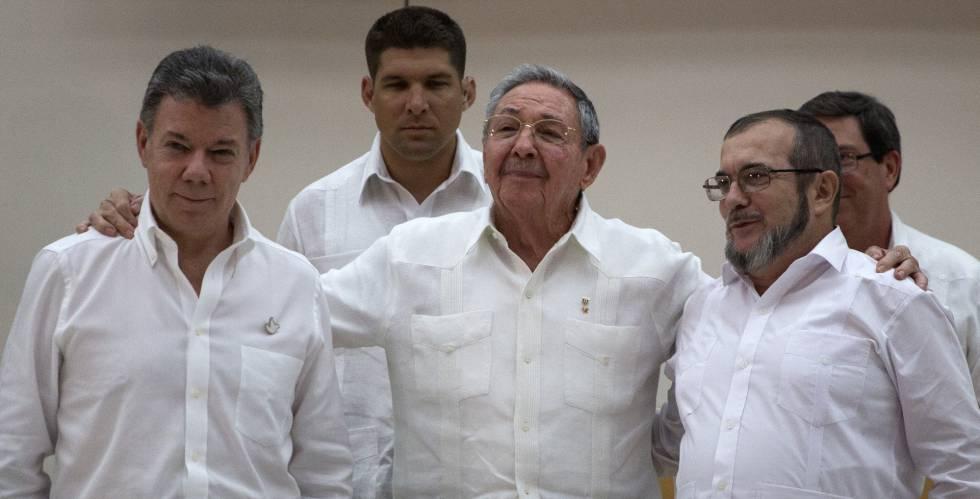 Colombia abre una nueva era al lograr un acuerdo de paz con las FARC