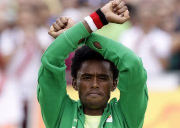 La familia de Lilesa le advierte de que no regrese a Etiopía