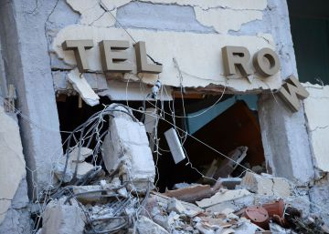 El Hotel Roma de Amatrice, un símbolo reducido a escombros