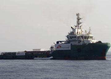 MSF revela que uno de sus barcos de rescate fue atacado frente a Libia