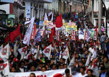 El Colectivo Unitario de Ecuador marcha este 25 de agosto en Quito.