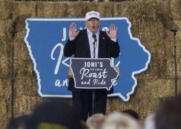 Trump titubea con la inmigración en su búsqueda del voto moderado