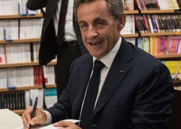 Sarkozy entra en campaña con un discurso más duro