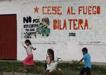Las FARC anuncian el cese definitivo al fuego