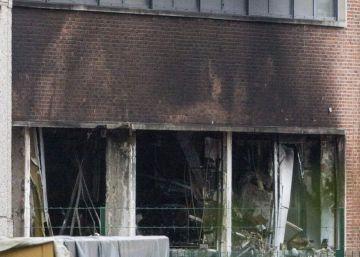 Explosión en un edificio judicial de Bruselas