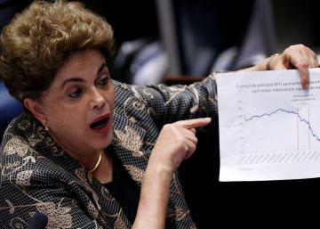 Dilma Rousseff se defiende ante las acusaciones de senadores brasileños