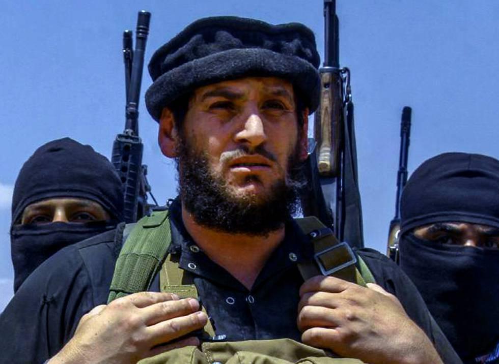 El portavoz del ISIS en Siria Al Adnani, muerto este martes.