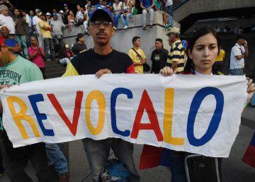 La oposición asegura que un millón de venezolanos participa en la marcha