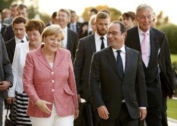 Hollande y Merkel pactan la hoja de ruta para una UE sin Reino Unido