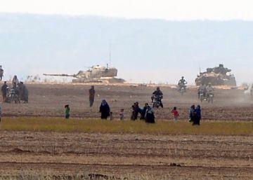 Turquía envía más tanques y abre un nuevo frente en Siria
