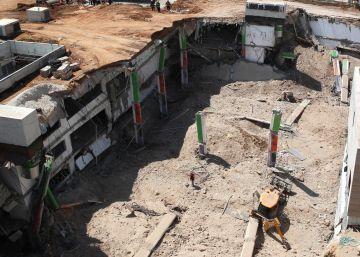 Dos muertos, cuatro desaparecidos y 23 heridos al desplomarse una construcción en Tel Aviv
