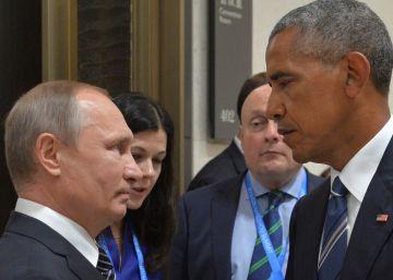 Obama señala que la desconfianza con Rusia impide un pacto sobre Siria