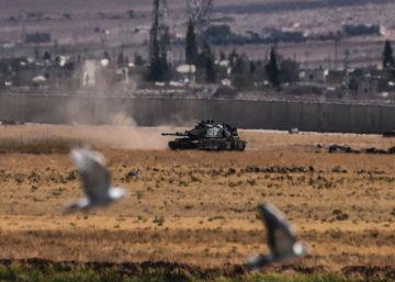 Turquía bombardea a facciones prokurdas de Siria que avanzaban frente al ISIS