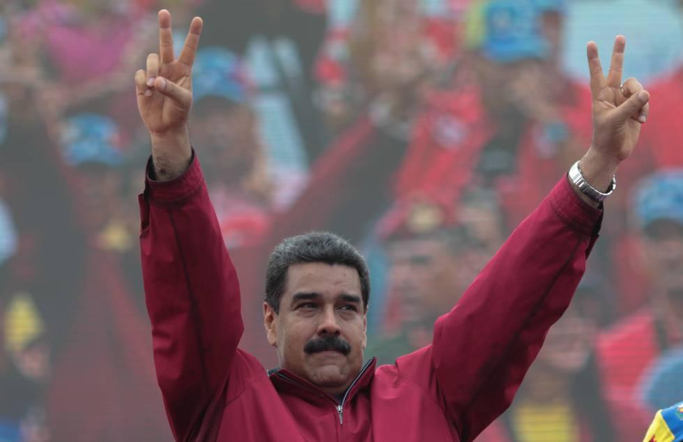 El presidente de Venezuela, Nicolás Maduro, el jueves pasado.