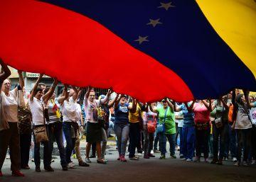 El chavismo sale a la calle en respuesta a la movilización de la oposición
