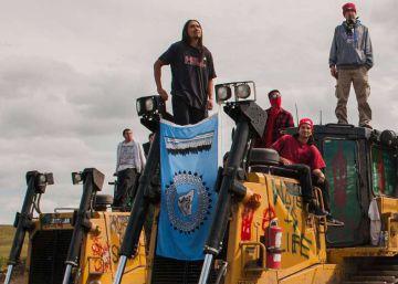 Rebelión sioux contra un oleoducto en Estados Unidos
