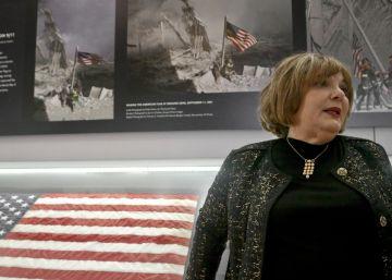 La icónica bandera del 11-S llega a Nueva York tras años desaparecida