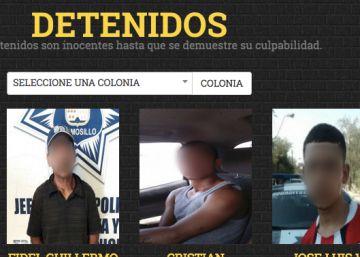 Galería de delincuentes: la iniciativa de un alcalde mexicano