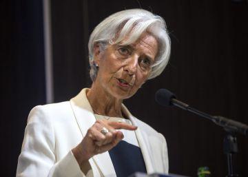 """Lagarde acusa a Trump de usar recetas proteccionistas """"fracasadas"""""""