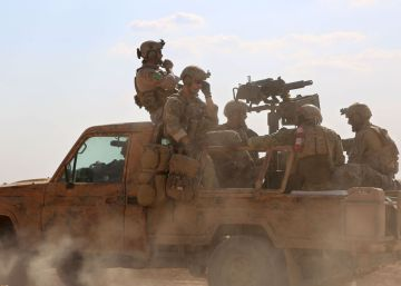 Fuerzas estadounidenses y turcas luchan juntas en Siria