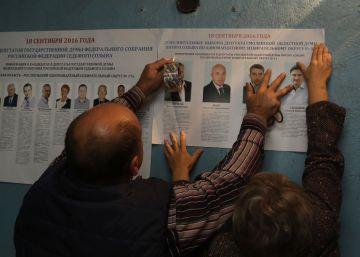 Rusia examina en las urnas el respaldo al mandato de Putin