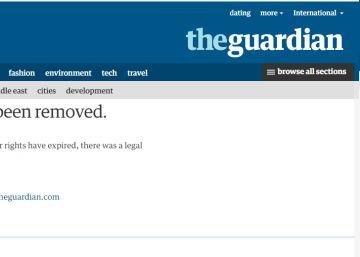 'The Guardian' retira de su web una noticia sobre un supuesto caso de corrupción de Angélica Rivera