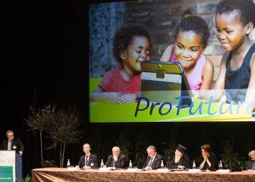 César Alierta presenta en Asís el proyecto ProFuturo