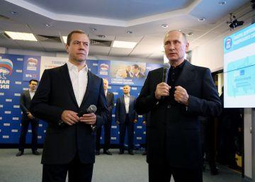 Putin refuerza su liderazgo gracias a la victoria de Rusia Unida