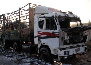 La ONU suspende el envío de ayuda a Siria tras el ataque a un convoy