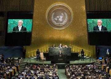 Seis países latinoamericanos boicotean el discurso de Temer en la ONU