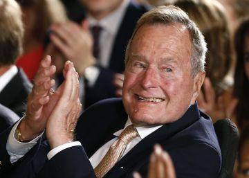 George H. W. Bush votará a Hillary Clinton