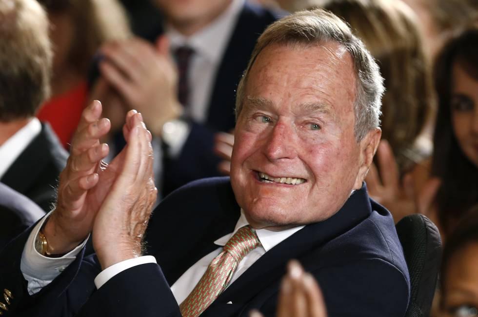 George H. W. Bush votará em Hillary Clinton, de acordo com uma Kennedy