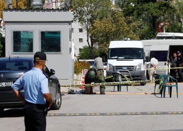 Un hombre herido tras intentar atacar la Embajada de Israel en Turquía