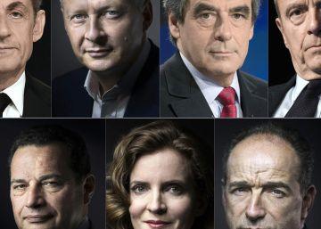 La derecha inicia la campaña de primarias con Juppé y Sarkozy como favoritos